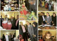 افتتاح نمايشگاه توانمندي بانوان جامعه بومي وروستايي( نگاه نو) در روستاي سهموجنوبي