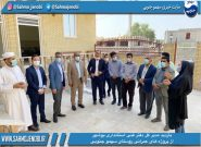مدیر کل دفتر فنی استانداری بوشهر از پروژه های عمرانی روستاى سهمو جنوبی بازديدكرد