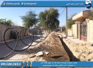 پایان عمليات توسعه شبكه گاز به طول ۱۵۰ متر در خيابان امام شافعى (رض) سهموجنوبى