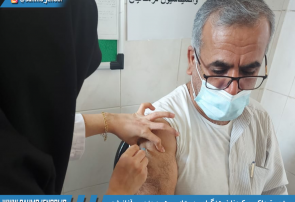آغاز تزریق واکسن کرونا فرهنگیان روستای سهموجنوبی